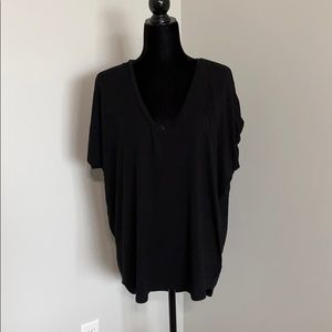 Express high low loose fitting tee